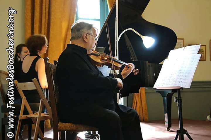 Recital alongside violinist Maurice Hasson